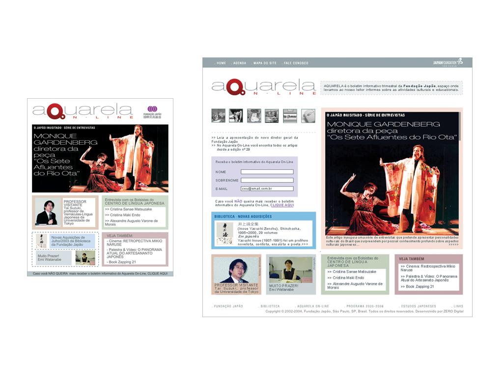 E-mailing e Website.