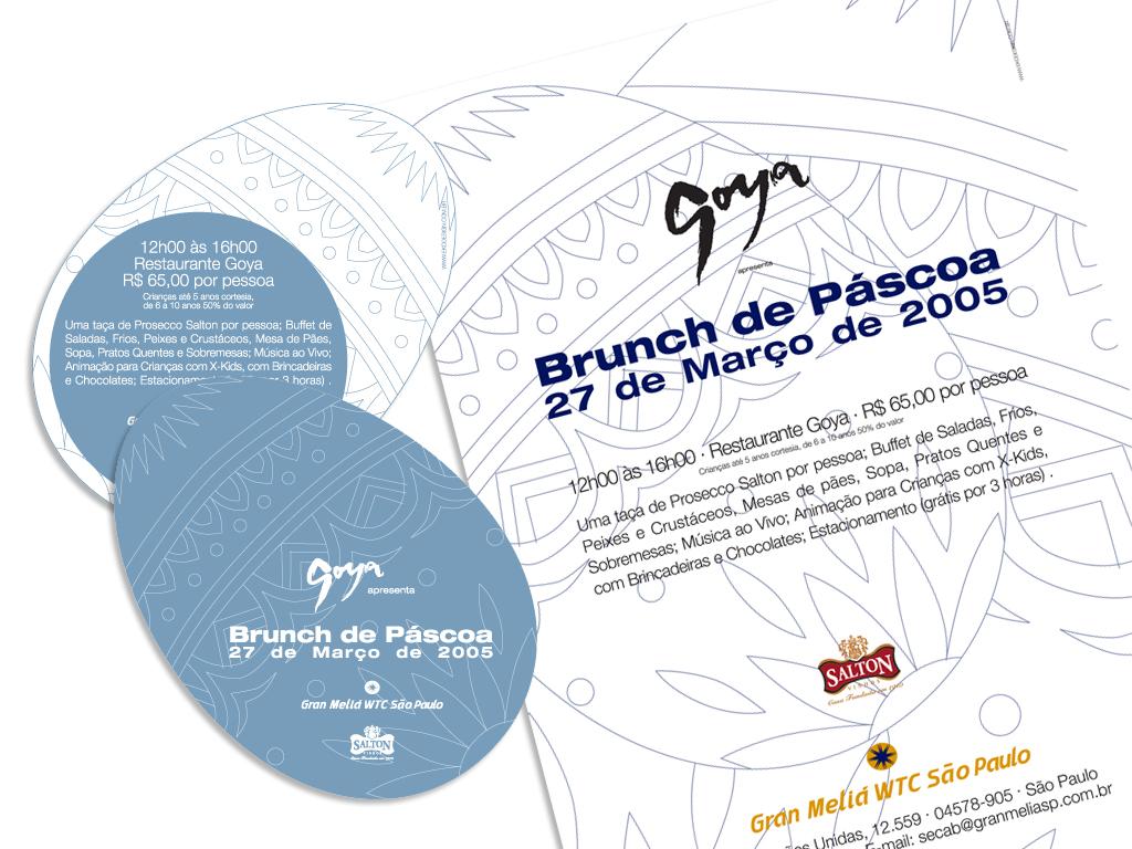 Peças Gráficas (Convite e Cartaz) e E-mailing.