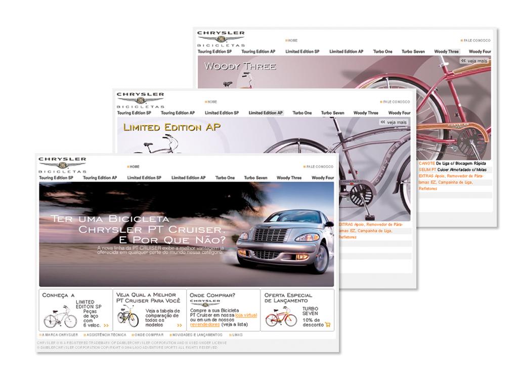 Website (Design e Arquitetura da Informação).