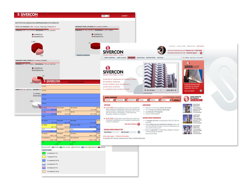 Website e Sistema de Espelho On-Line.