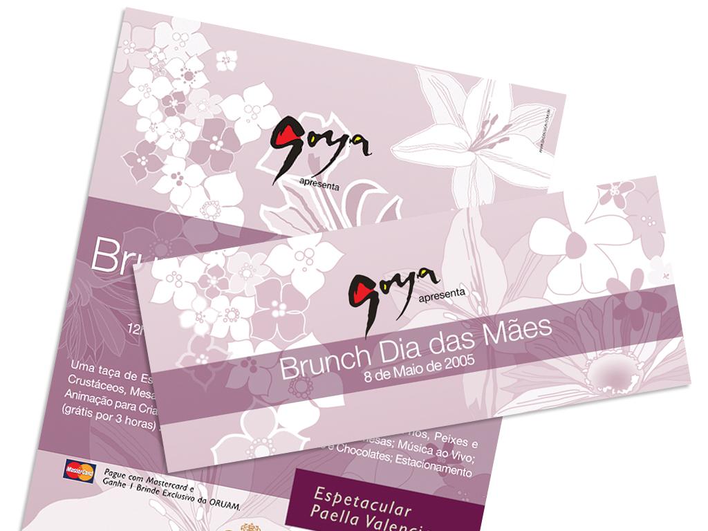Peças Gráficas (Cartaz e Postal) e e-mailing promocional.