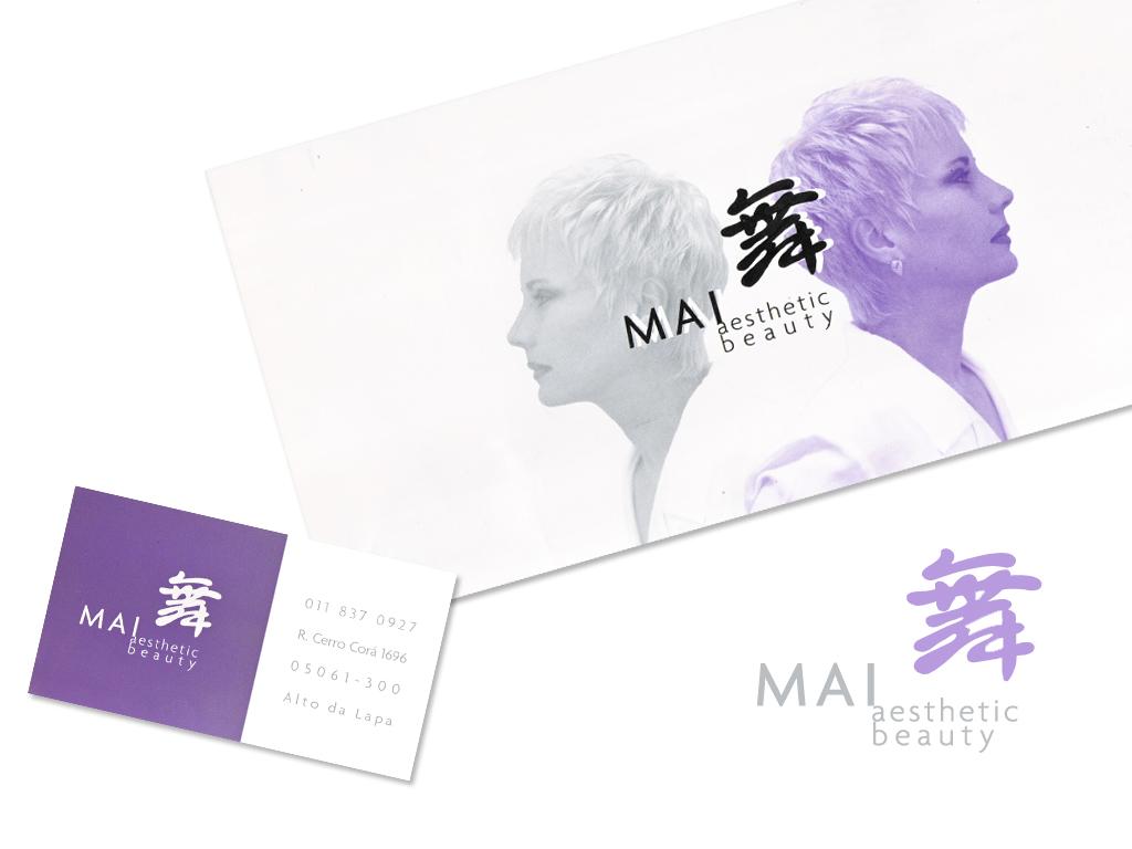 Logo e Peças Gráficas (Cartão de Visita e Postal).