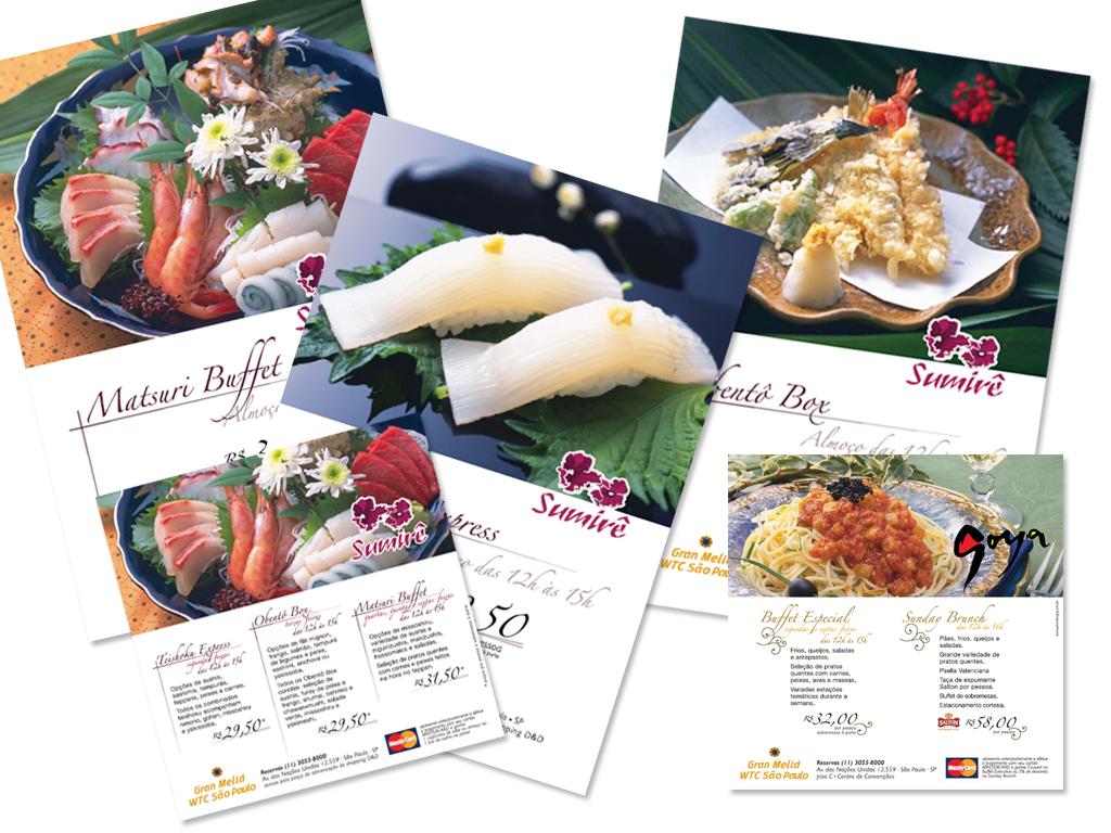 Peças Gráficas (Cartaz e Postal) promocional.