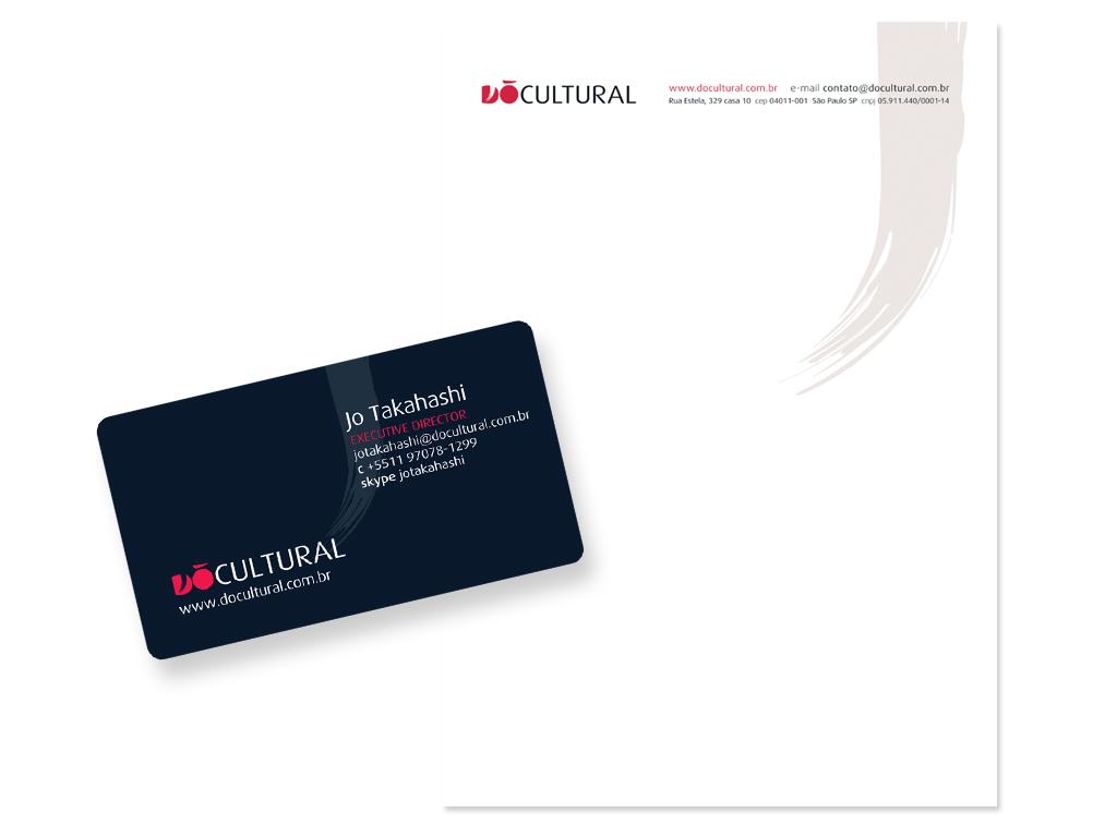 Papelaria (Cartão de Visita e Papel Timbrado Eletrionico).
