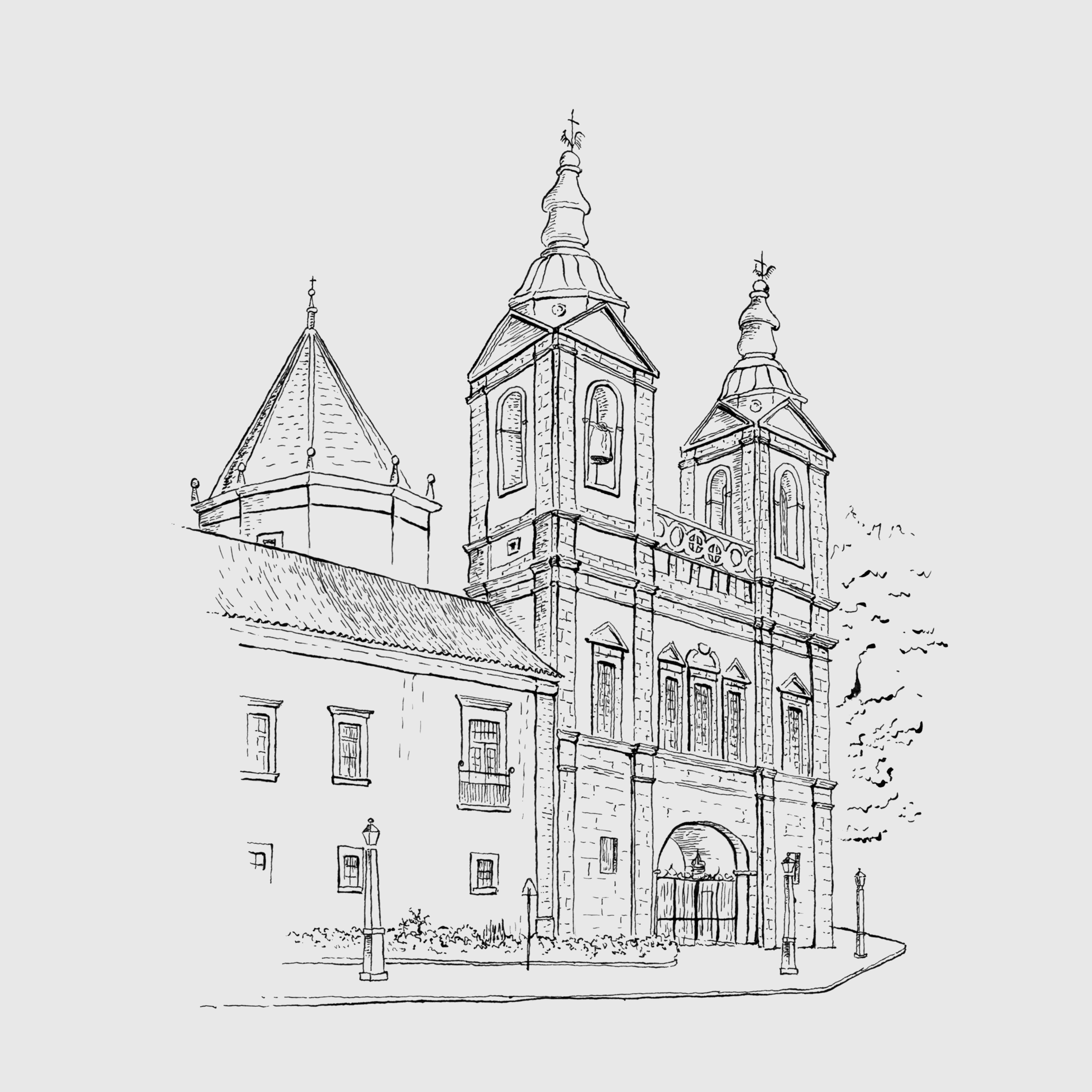 Ilustração 4 (Bico de Pena).