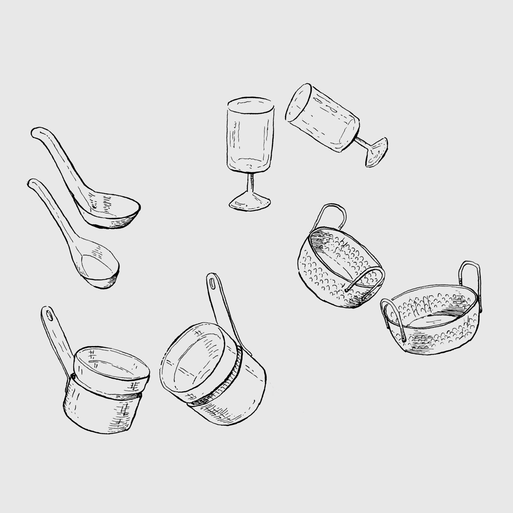 Ilustração 2 (Bico de Pena).