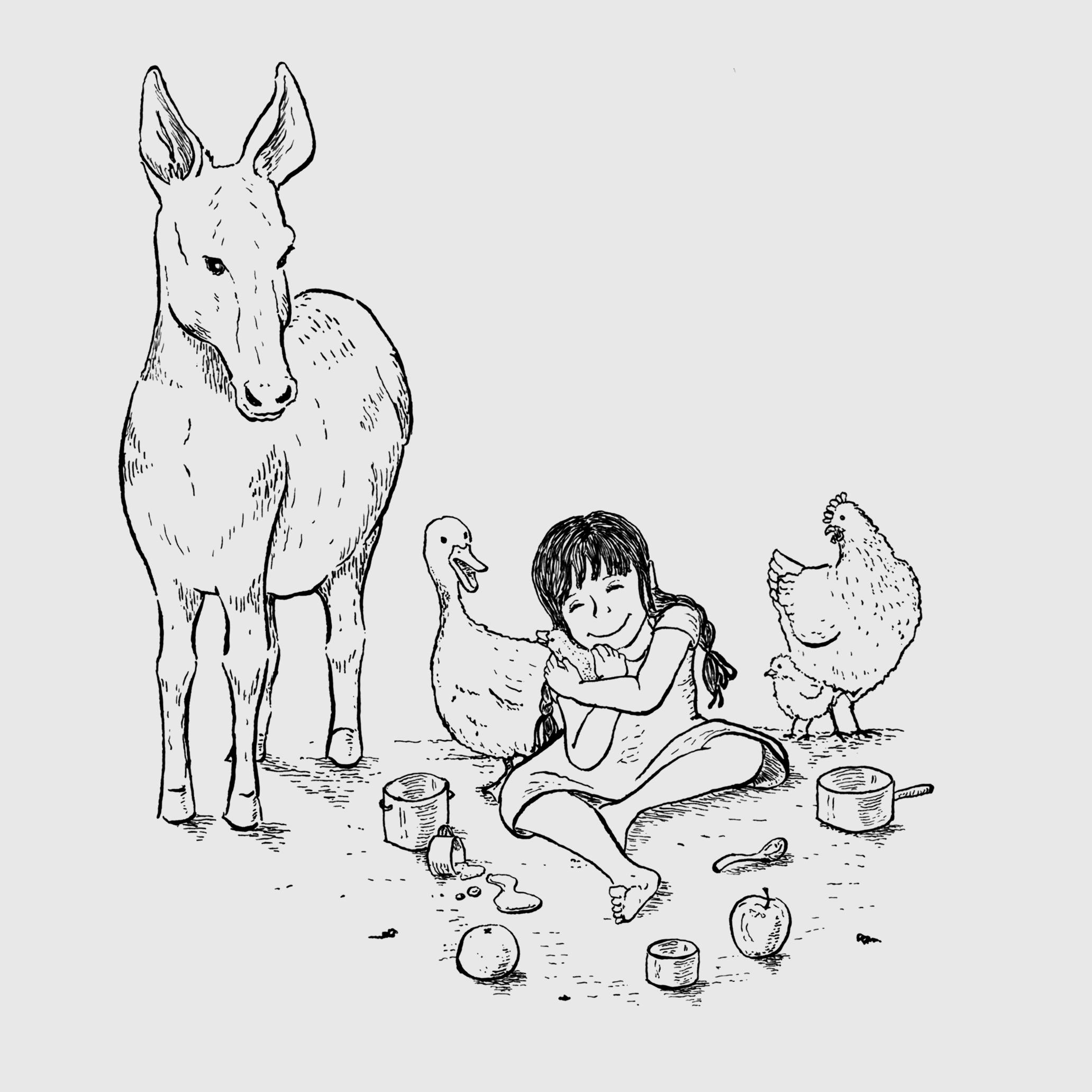 Ilustração 1 (Bico de Pena).