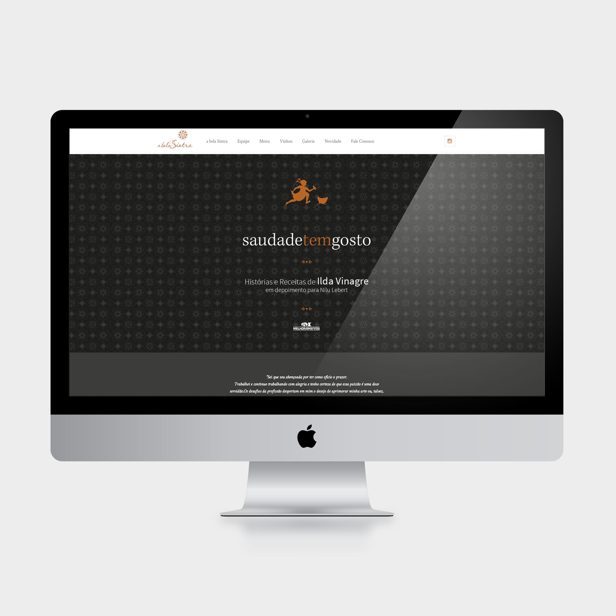 Hotsite integrado com sistema WordPress (acesse o site clicando aqui).