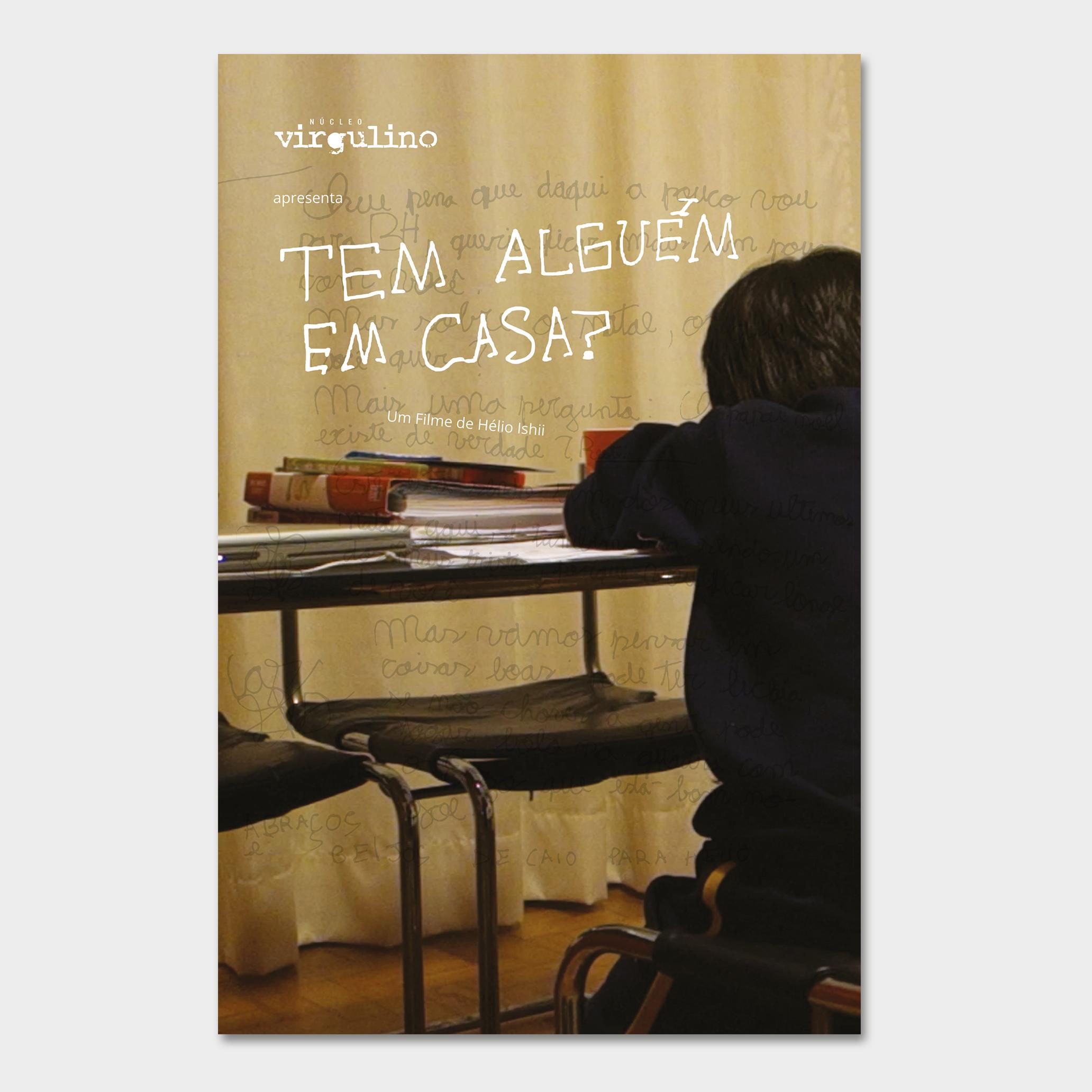 Projeto Gráfico para o Cartaz do documentário de Hélio Ishii: Tem alguém em casa?